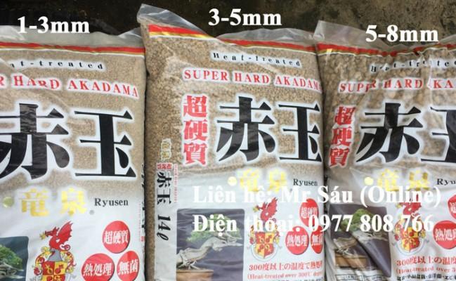 Đất trồng Bonsai Akadama 5-8mm