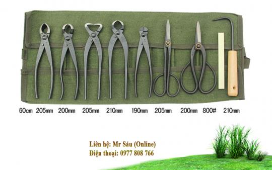 Bộ dụng cụ cắt tỉa cây cảnh giá rẻ