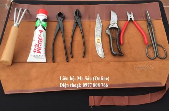 Bộ dụng cụ Bonsai Nhật Bản A1